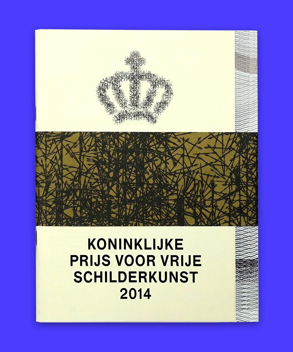 Catalogus Koninklijke Prijs voor Vrije Schilderkunst 2014